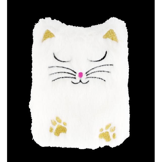 Taschenwärmer - Warmly White Cat