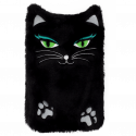 Hot water bottle - Hotly Black Cat