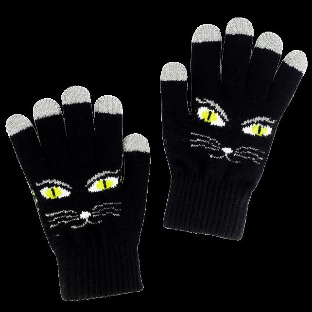 Guanti per touch screen - Touch Gloves  Black Cat