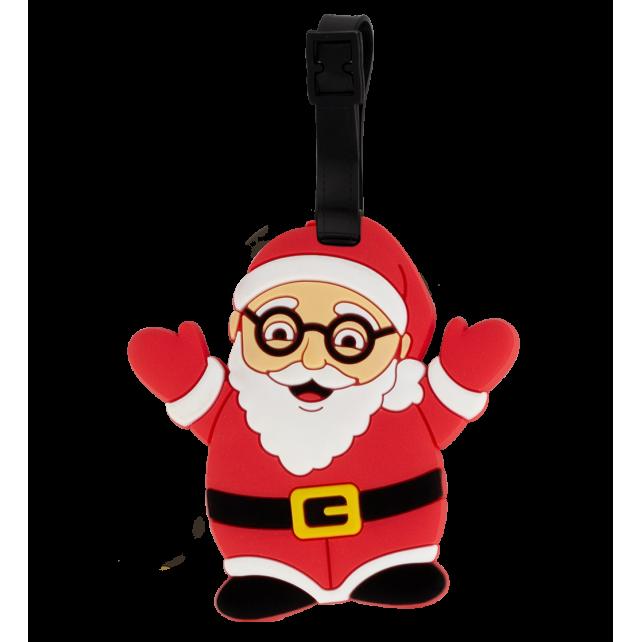 Luggage label - Ani-luggage Santa