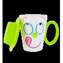 Face Mug - Tasse et couvercle Verde
