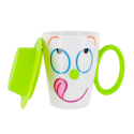 Tazza e coperchio - Face Mug