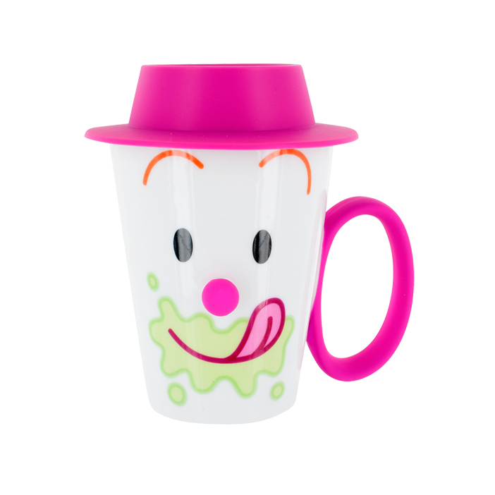 Cup And Lid Face Mug Pylones