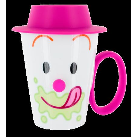 Face Mug - Tasse mit Deckel