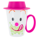 Face Mug - Cup and lid Green