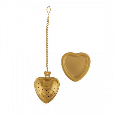 Tea Infuser - Anitea - Heart Gold