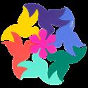 Sottopentola / sottobicchieri - Entrecolibris Multicolore