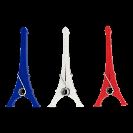 Set de 3 pinces Tower - Les parisiennes