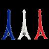 Set de 3 pinces Tower - Les parisiennes France
