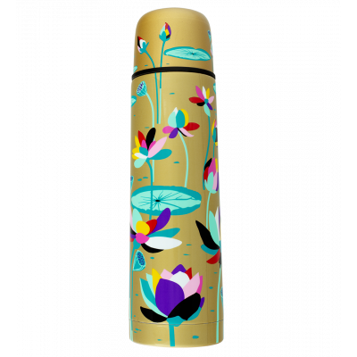Bouteille thermos isotherme - Keep Cool - Lotus