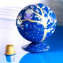 Boule à sucre / pot à sucre - Sugar Pot Orchid Blue