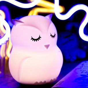 Veilleuse musicale - Owl Light