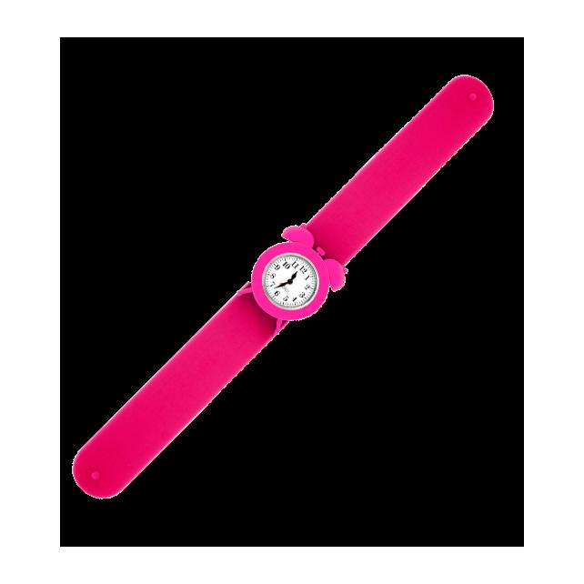Slap alarm clock watch - My Time 2 Pink