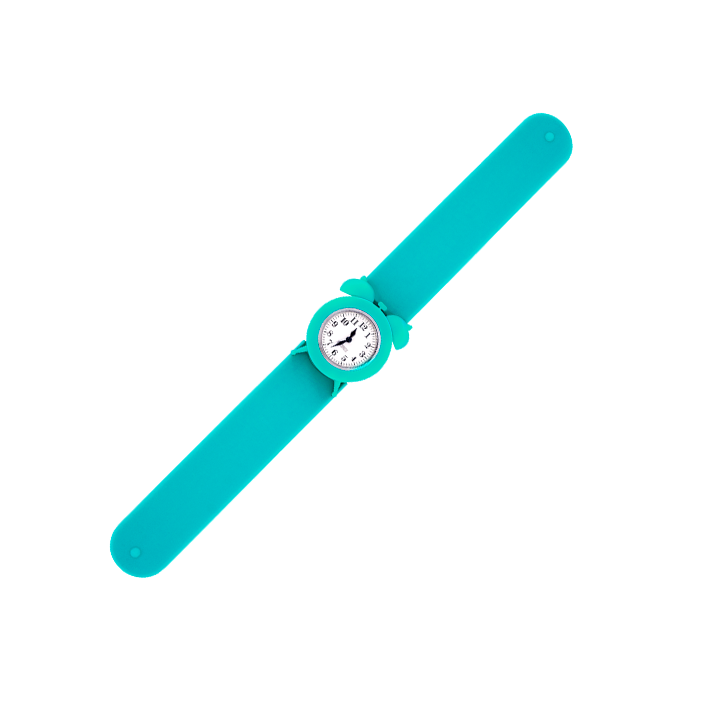 Slap alarm clock watch - My Time 2 Turquoise