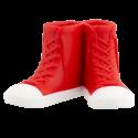 Porte brosse à dents - Sneakers Rouge