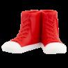 Porta spazzolino da denti - Sneakers Rosso