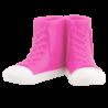 Zahnbürstenhalter - Sneakers Rosa