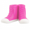 Porta spazzolino da denti - Sneakers Rosa