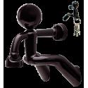 Schlüsselanhänger - Peter