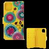 Coque à clapet pour iPhone 11 - I Wallet 11 Dahlia