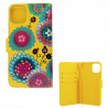 Flap cover/wallet case for iPhone 11- I Wallet 11 Dahlia