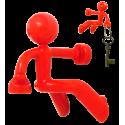 Peter - Porte clé Rosso