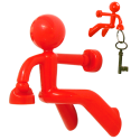 Schlüsselanhänger - Peter Blau