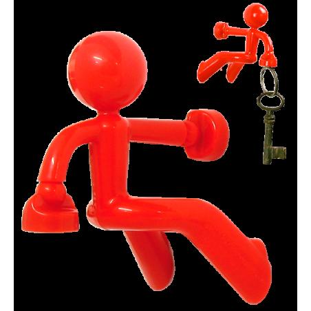Peter - Schlüsselanhänger Schwarz