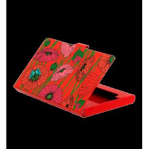 Porte cartes de visite - Busy - Coquelicots
