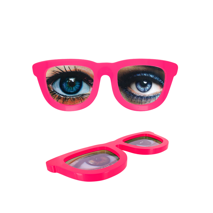 Photo Glasses - Cadre photo Pink