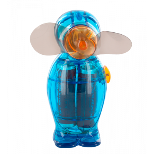 Ventilateur de poche - Pingouin - Bleu