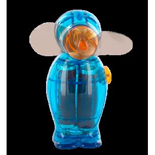 Taschenventilator - Pingouin - Blau
