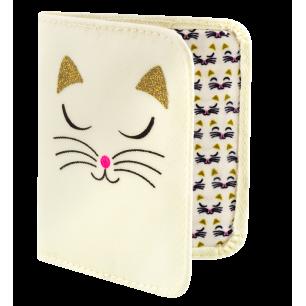 Porta tessere - Voyage - White Cat