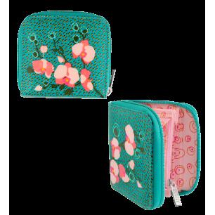 Kleine Brieftasche - Voyage - Orchid Blue