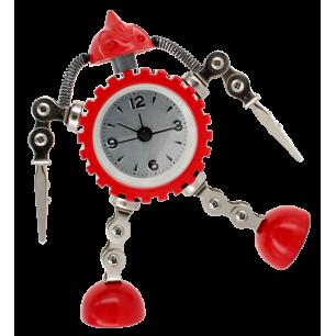 Réveil - Robot Timer - Rouge