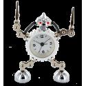 Robot Timer - Réveil Argento
