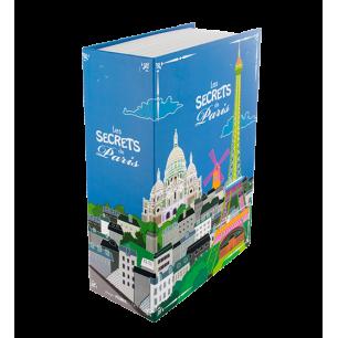 Les Secrets de Paris - Livre coffre-fort