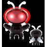 Space Byte - Mini enceinte Diable