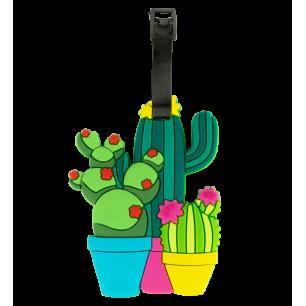 Etiquette de bagage - Ani-luggage - Cactus