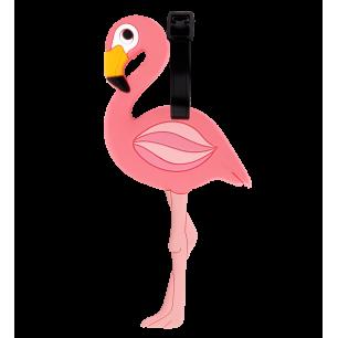 Etiquette de bagage - Ani-luggage - Flamingo