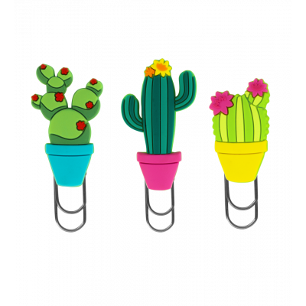 Kleines Lesezeichen - Bookmark - Cactus