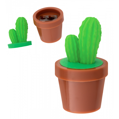 Taille crayon - Zoome sharpener - Cactus
