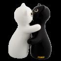 Salière et poivrière - Hugcats Noir / Blanc