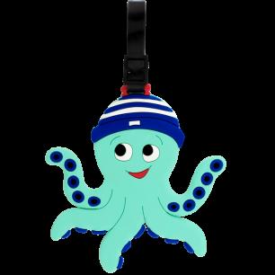 Etiquette de bagage - Ani-luggage - Octopus