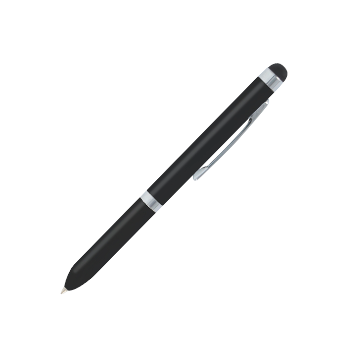 Touch Ball - Stylo avec stylet tactile Noir