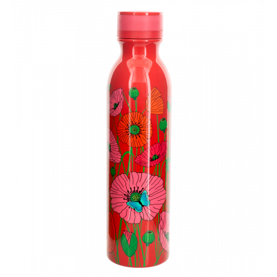 Bouteille thermos isotherme - Keep Cool Bottle - Coquelicots