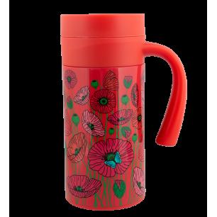 Mug Isotherme - Keep Cool Mug - Coquelicots