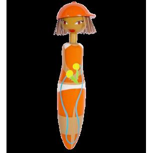 Stylo rétractable - Girl Pen