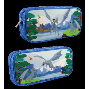 Rectangular pencil case - Planete Ecole - Le Voyage Fantastique Dragon