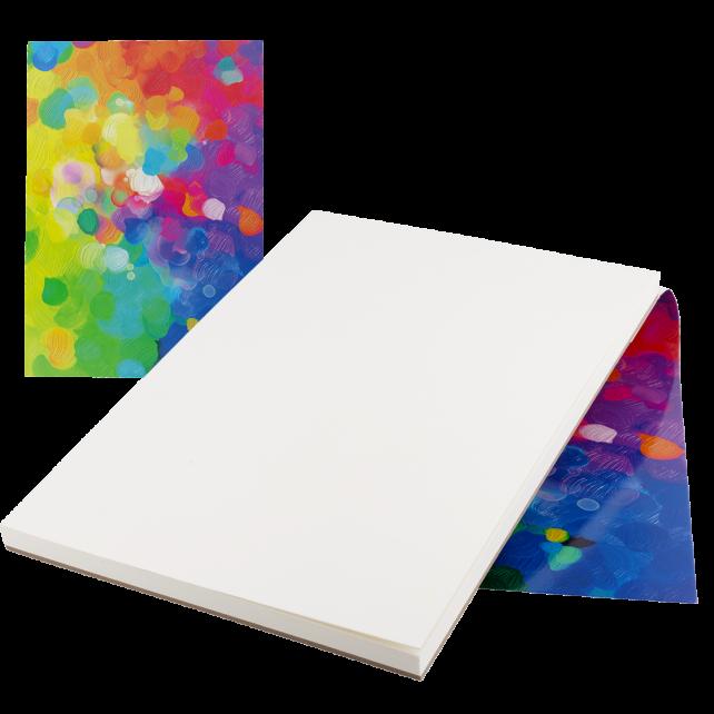 Zeichenbuch - Haut les couleurs